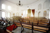 SINGAPORE - 31 DEC 2013: From the back of the Armenian Church Of — Stock Photo
