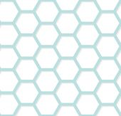 Modern geometric hexagonal background. Vector abstract simple pa — Stock Vector