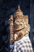 Statue of the Mythical Balinese Barong Creature — Stock Photo