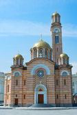 Banja Luka Cathedral view — Stock Photo