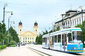 Debrecen city center — Stock Photo