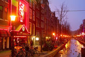 Red Light, Amsterdam — Stock Photo