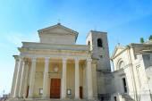 San Marino Basilica — Foto Stock