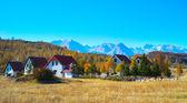Village. Mountains. Montenegro — Stock Photo