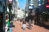 Amsterdam shopping — Stockfoto