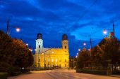 Debrecen landmarks — Stock Photo