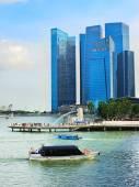 Singapore touristic — Stock Photo