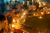 Candle lights, Thailand — Stock Photo