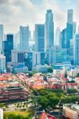 Singapore metropolis — Stock Photo