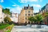 Karlovy Vary Hot springs  — Stock Photo