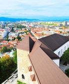 Ljubljana Castle view — Foto de Stock