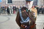 Poland soldier portrait — Stockfoto
