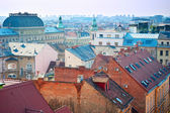 Zagreb skyline — Foto de Stock
