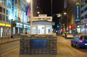 Checkpoint Charlie, Berlin — Stock Photo