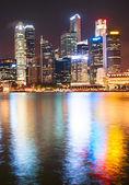 Singapore binnenstad kern — Stockfoto