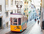 Famous designed funicular — Stock Photo