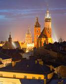 Kraków stare miasto — Zdjęcie stockowe