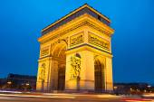 Triumphal Arch, Paris — Stock Photo