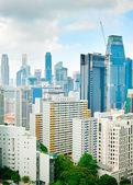 Density Singapore Downtown — Stock Photo