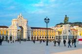 Commerce Square, Lisbon — Foto de Stock