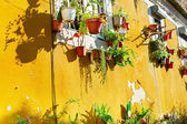 Traditional Lisbon wall — Stock Photo