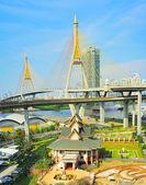 Bangkok Ring Road bridge — Fotografia Stock