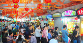 Singapore food court — Stock Photo