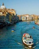 Venice boat excursion — Stock Photo