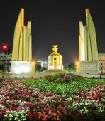 The Democracy Monument in Bangkok — Stock Photo