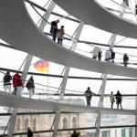 Reichstag dome interior — Stock Photo #72230511