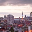 Batumi panorama at sunset. — Stock Photo #74160719