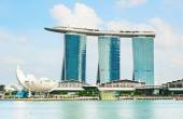 Marina Bay Sands Resort — Stock Photo
