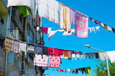 Typical drying clothes, Georgia — Stock Photo