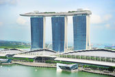 Marina Bay hotel, Singapore — Stockfoto