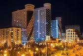 Modern architecture of Batumi embankment — Stock Photo