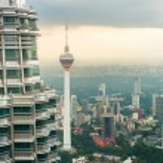 Skyline of Kuala Lumpur. Malaysia — Stock Photo #79265300