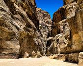 Al-Siq in Petra, Jordan — Stock Photo