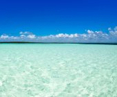 Caribbean sea water — Stock Photo
