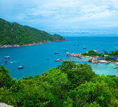 Koh Nang yuan Island — Stock Photo