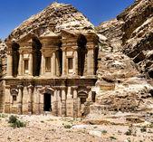 Petra Antik Tapınağı — Stok fotoğraf
