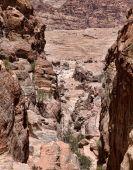 Rock in Petra — Stock Photo