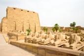 Karnak, egito. — Fotografia Stock