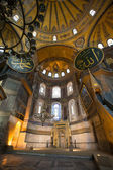 Interior da mesquita azul — Foto Stock
