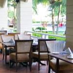 Outdoor restaurant — Stock Photo #58428095