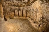 Cave city in Cappadocia, Turkey — Stock Photo
