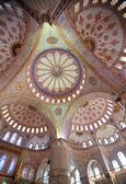 Intérieur de la mosquée bleue — Photo