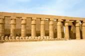 Karnak, egypten. — Stockfoto