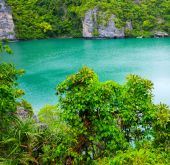 Lagoon called 'Talay Nai' — Stock Photo
