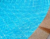 Pool in hotel — Stock Photo