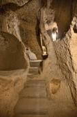 Cave  in Cappadocia ,Turkey — Stock Photo